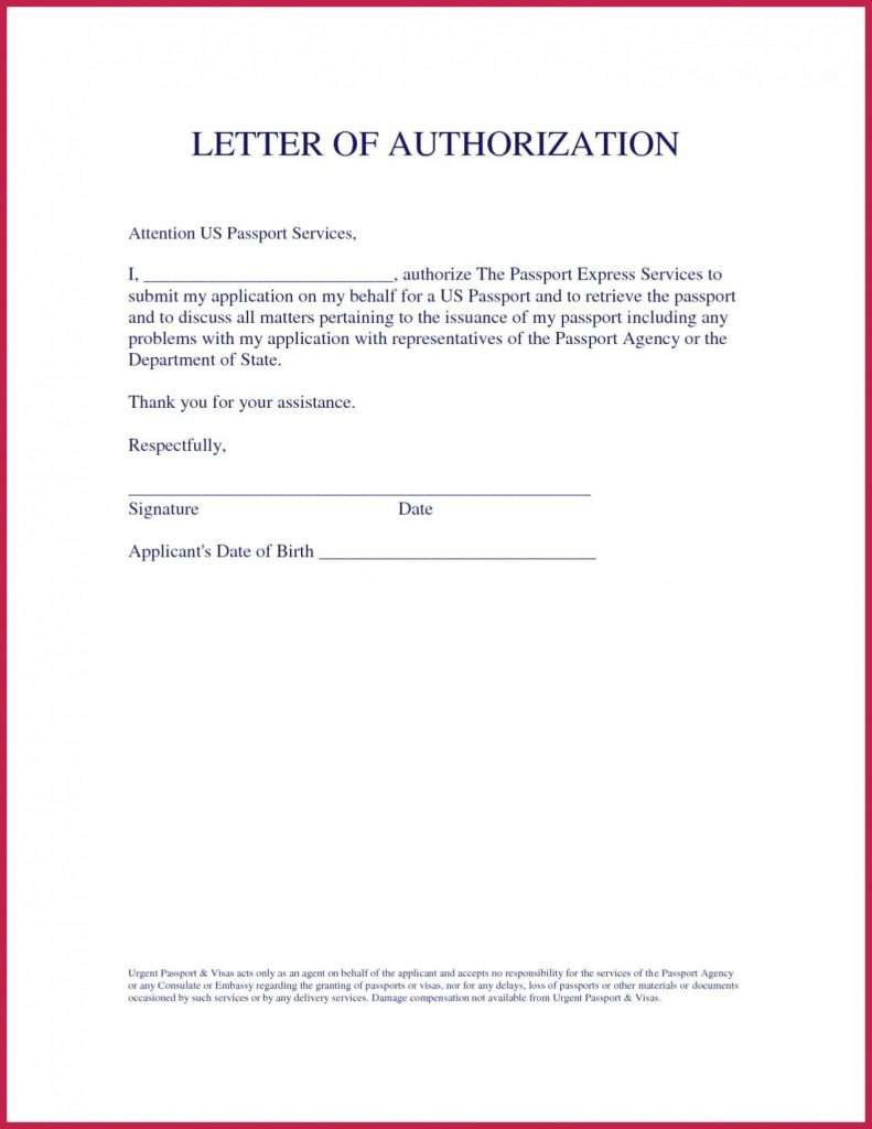 Sample Letter of Authorization to Represent in Court