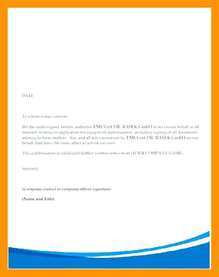 authorization letter to collect cheque from post office authorization letter template