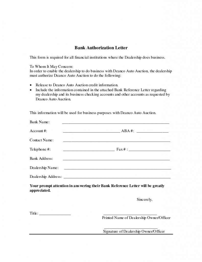 Authorization Letter for SSS Verification