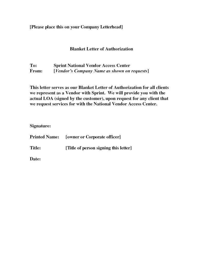 Authorization Letter for Getting NSO Birth Certificate
